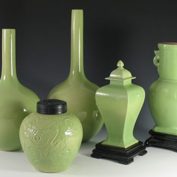 Gonder Imperial Line pieces in Celadon Green