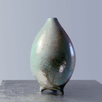 Tear Drop Vase on Three Feet